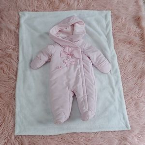 First impressions baby snowsuit